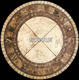 15'' Marble Kitchen Coffee Side Table Top Inlay Marquetry Ho