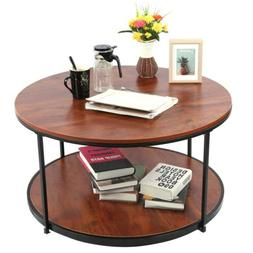 2 Tier Coffee Accent End Table Sofa Side Living Room Furnitu