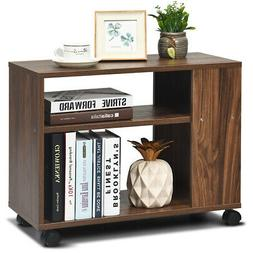 3-tier Side Table W/Storage Shelf Side End Table Space Saver