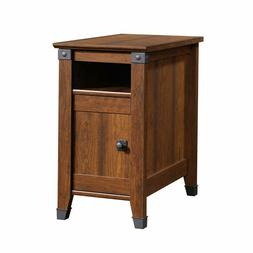 "Sauder 414675 Carson Forge Side Table, L: 14.17"" x W: 22.44"""