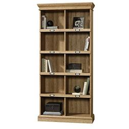Sauder 414725 Scribed Oak Finish Barrister Lane Bookcase