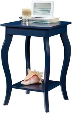 Sauder 420135 Harbor View Table, Indigo Blue