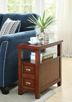 Acme Furniture - 80921 - Perrie Cherry Side Table New