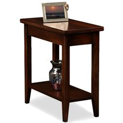 Leick Laurent Narrow Chairside End Table