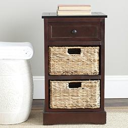 Safavieh American Homes Collection Carrie Dark Cherry Side S