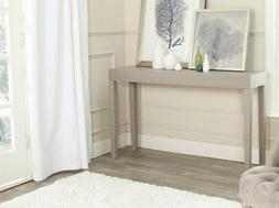 Safavieh Home Collection Kayson Grey Console Table, side tab