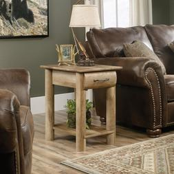 Sauder 416561 Boone Mountain Side Table With Drawer In Craft