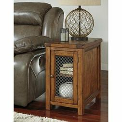 Signature Design by Ashley T830-7 Chair Side End Table, Medi