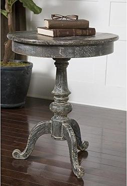 Uttermost 24245 Cadey Reclaimed Wood Side Table