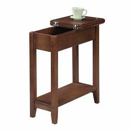 Convenience Concepts American Heritage Flip Top End Table, D