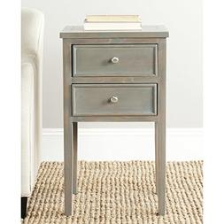 Safavieh American Homes Collection Toby French Grey End Tabl
