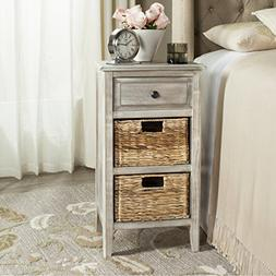 Safavieh American Homes Collection Everly Vintage White Side