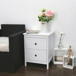 Bedside End Table Bedroom Nightstand Cabinet Sofa Side Coffe