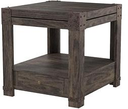 Signature Design by Ashley T846-3 Rectangular End Table, Was