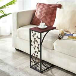 c small side end tables snack accent
