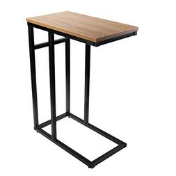 Homemaxs Sofa Side End Table C Table Small, Snack Table with