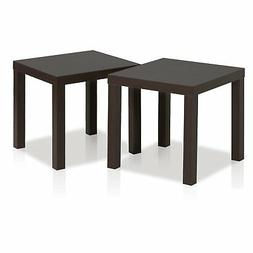 FURINNO Classic Cubic End Table, Set of Two 2FRN001EX, Espre