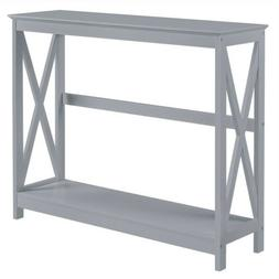Classic X-Design Console Table Sofa Side Table For Entryway