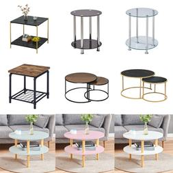 Coffee Table Sofa Bed Side Accent End Tables Simple Living R