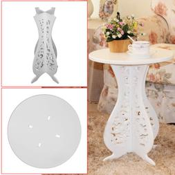 Coffee Tea Side Table Round Pedestal End Table Stand Living