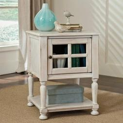 Signature Design By Ashley Cottage Accents White Chair Side