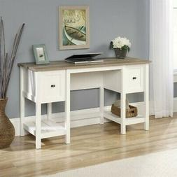Sauder Cottage Road Desk, Soft White