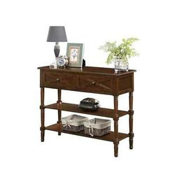 Convenience Concepts Country Oxford 2 Drawer Console Table E