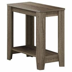 Monarch Specialties Dark Taupe End Table