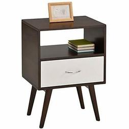 EHomeProducts End Tables Side Table/Nightstand With Drawer/S