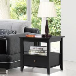 End Side Table Night Stand Sofa Bedside Accent Table Living