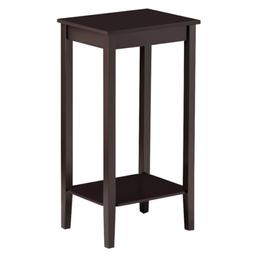 End Side Table Nightstand Bedside Sofa Coffee Stand w/Shelf