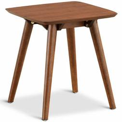 End Table Accent Sofa Side Coffee Table Solid Wood Leg Livin