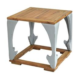 East At Main Epirus Side Table, Ant Light Grey,