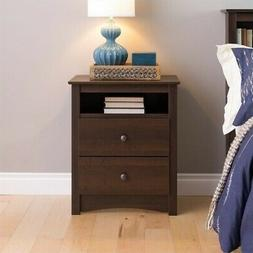 Prepac Fremont2 Drawer Nightstand - EDC-2428