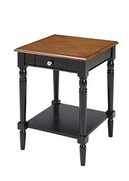 Convenience Concepts French Country End Table with Drawer, D