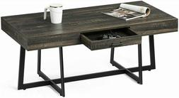 Functional Mid-Century Coffee Table Side Sofa Table TV Stand
