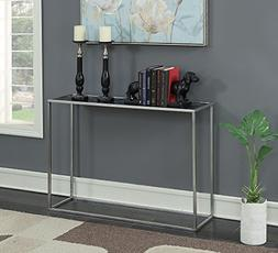 Convenience Concepts Gold Coast Faux Marble Console Table, B
