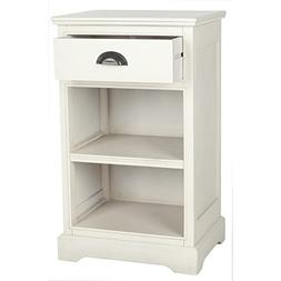 Griffin End Table, White