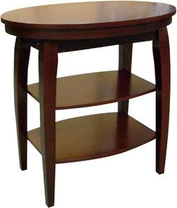 Ore International H-136 Magazine Table - Cherry