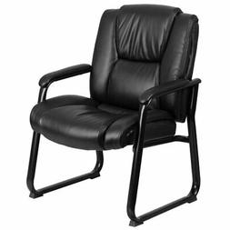 Hercules 500 lbs Leather Executive Side Guest Chair
