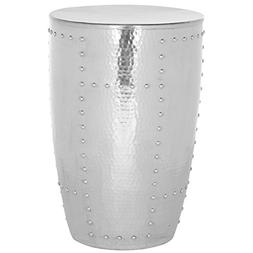 Safavieh Home Collection Hammersmith Silver End Table