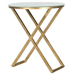 Safavieh Home Collection Riona Gold Accent Table
