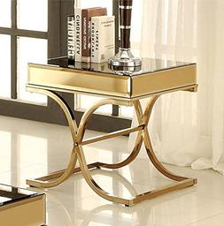 247SHOPATHOME IDF-4230E End-Tables, Bronze