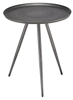 247SHOPATHOME IDF-AC177BK Mabelle Side Table, Black