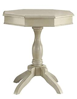 247SHOPATHOME IDF-AC6442WH Brogan Side Table, White