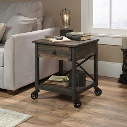 industrial side table nightstand sofa mobile console