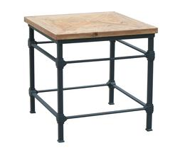Josh Side Table - Reclaimed Wood Provincial home outlets