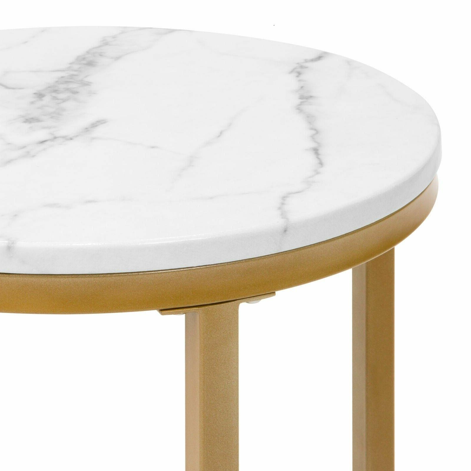 """16"""" Gold Round Side Living"""