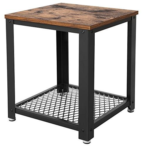 2 tiered table square frame