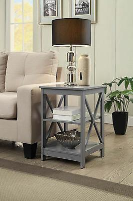Convenience Oxford end Gray - Gray NEW